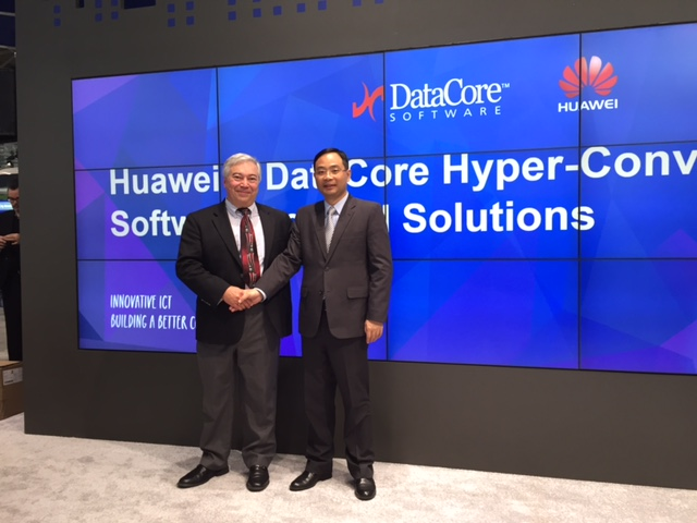 Huawei DataCore Partner on Hyperconverged Solutions