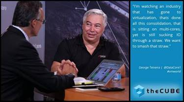 theCUBE Video: DataCore Customer and CEO Interviewed by Dave Vellante on Parallel I/ and Value of Software Defined Storage